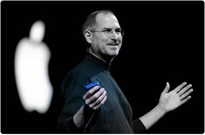 Steve Jobs Blue Presentation Clicker